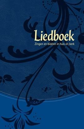 Afbeeldingen van Liedboek - blauw kunstleer