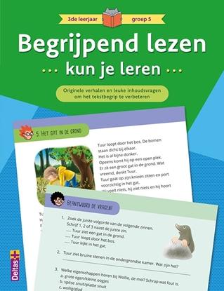 Afbeeldingen van Begrijpend lezen kun je leren 3de leerjaar groep 5 (groen)