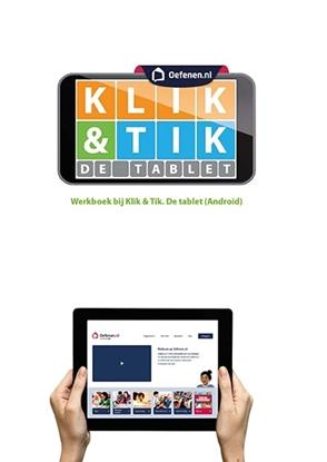 Afbeeldingen van Klik & Tik de tablet