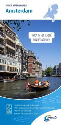 Afbeeldingen van ANWB waterkaart Amsterdam