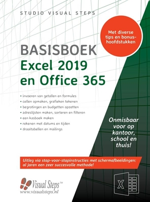 Afbeeldingen van Basisboek Excel 2019, 2016 en Office 365