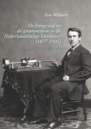Afbeeldingen van De fonograaf en de grammofoon in de Nederlandstalige literatuur