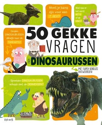 Afbeeldingen van 50 gekke vragen over dinosaurussen