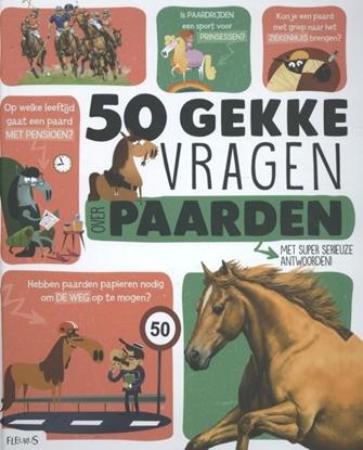 Afbeeldingen van 50 gekke vragen over paarden