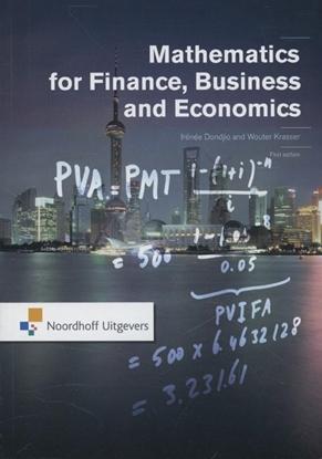 Afbeeldingen van Mathematics for finance, business and economics