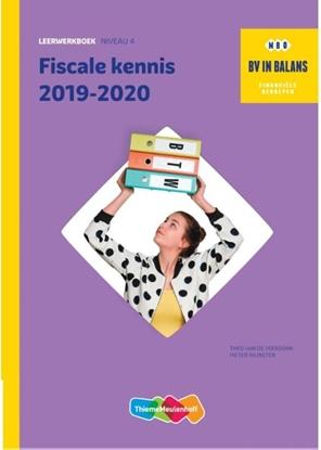 Afbeeldingen van BV in balans Fiscale kennis 2019-2020. Niveau 2 Leerwerkboek