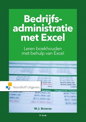 Afbeeldingen van Bedrijfsadministratie met Excel
