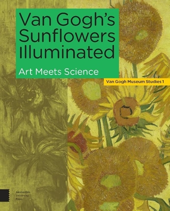 Afbeeldingen van Van Gogh's Sunflowers Illuminated