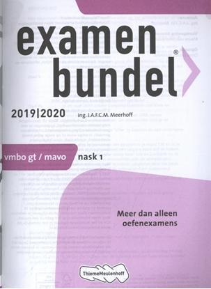 Afbeeldingen van Examenbundel vmbo-gt/mavo Nask 1 2019/2020