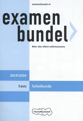 Afbeeldingen van Examenbundel havo Scheikunde 2019/2020