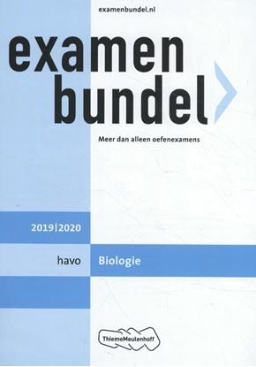 Afbeeldingen van Examenbundel Havo Biologie 2019/2020