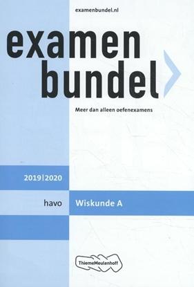 Afbeeldingen van Examenbundel haco wiskunde A 2019/2020