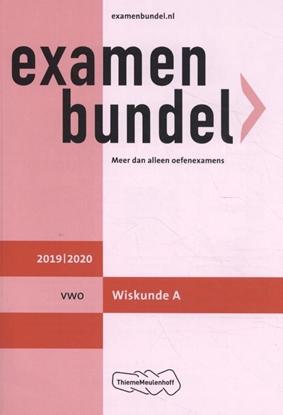Afbeeldingen van Examenbundel vwo Wiskunde A 2019/2020
