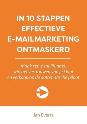 Afbeeldingen van 10 stappen boekenserie In 10 stappen effectieve e-mailmarketing ontmaskerd