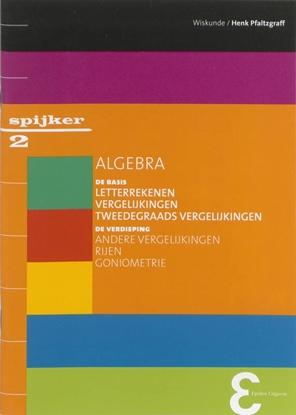 Afbeeldingen van Spijkerreeks Algebra