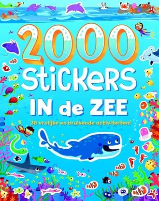 Afbeeldingen van 2000 stickers In de zee