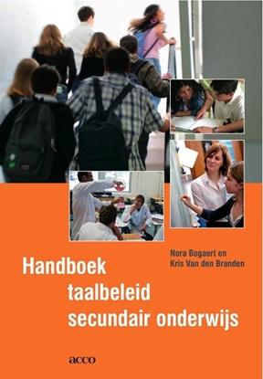 Afbeeldingen van Handboek taalbeleid secundair onderwijs