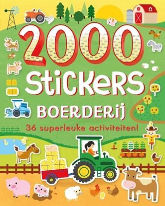 Afbeeldingen van 2000 stickers Boerderij