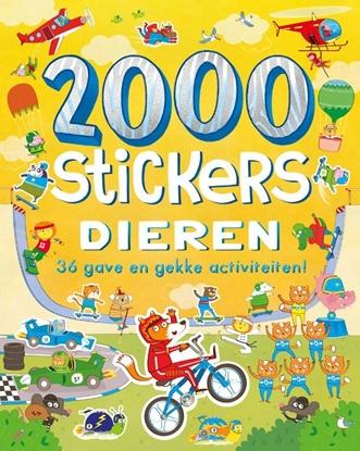 Afbeeldingen van 2000 stickers Dieren