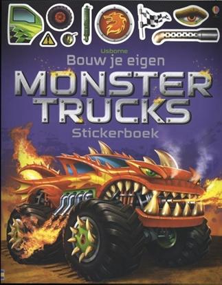 Afbeeldingen van Bouw je eigen monstertrucks Stickerboek