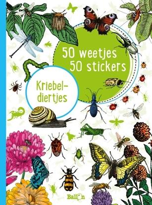 Afbeeldingen van 50 weetjes, 50 stickers Kriebeldiertjes