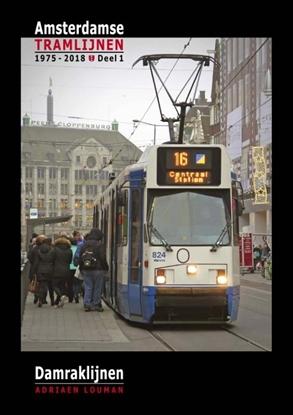 Afbeeldingen van Amsterdamse tramlijnen 1975 - 2018 Damraklijnen