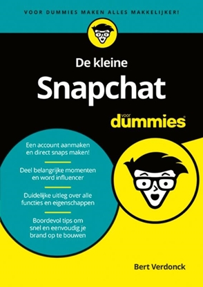 Afbeeldingen van De kleine Snapchat voor Dummies
