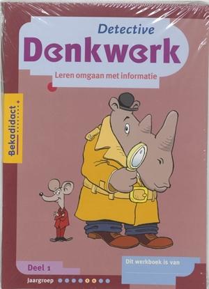 Afbeeldingen van Detective Denkwerk set 5 ex 1 Werkboek