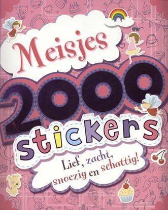 Afbeeldingen van 2000 stickers voor meisjes
