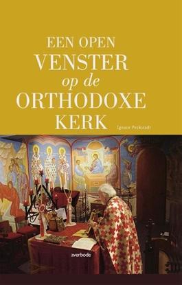 Afbeeldingen van Een open venster op de Orthodoxe kerk