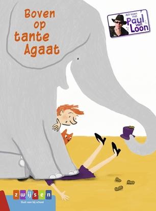 Afbeeldingen van AVI-lezen met Paul van Loon Boven op tante Agaat