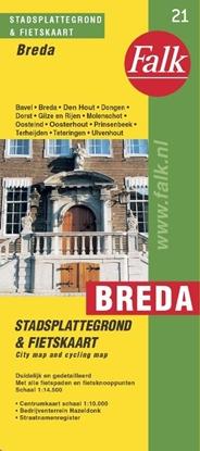Afbeeldingen van Breda plattegrond