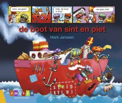 Afbeeldingen van AVI strips de boot van sint en piet