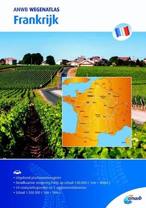Afbeeldingen van ANWB wegenatlas Frankrijk