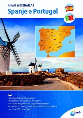 Afbeeldingen van ANWB wegenatlas Spanje & Portugal