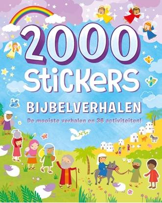 Afbeeldingen van 2000 stickers Bijbelverhalen