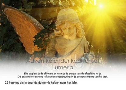 Afbeeldingen van Adventkalender kaartenset Lumeria