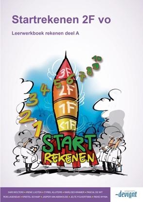 Afbeeldingen van Startrekenen 2F vo A + B Leerwerkboek