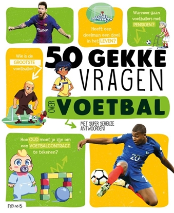 Afbeeldingen van 50 gekke vragen 50 gekke vragen over voetbal