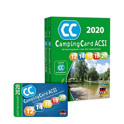 Afbeeldingen van ACSI Campinggids CampingCard ACSI 2020 Nederlandstalig - set 2 delen