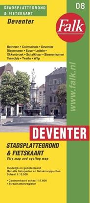 Afbeeldingen van Deventer plattegrond