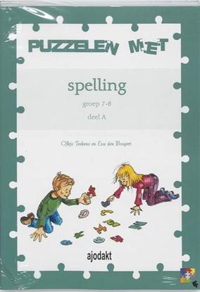 Afbeeldingen van Beka plus reeks Ajodakt Puzzelen met spelling (5ex) A groep 7-8