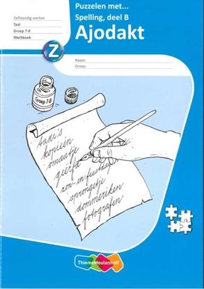 Afbeeldingen van Ajodakt, puzzelen met spelling (5 ex) B groep 7-8