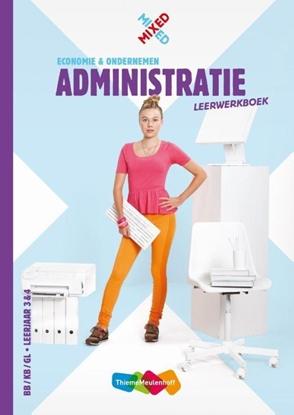 Afbeeldingen van Mixed Administratie vmbo Leerwerkboek