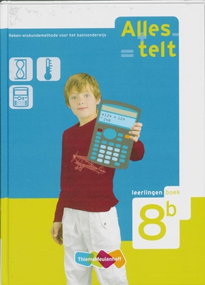 Afbeeldingen van Alles telt 8B Leerlingenboek
