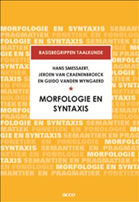 Afbeeldingen van Basisbegrippen taalkunde Morfologie en Syntaxis
