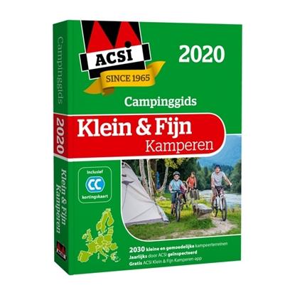 Afbeeldingen van ACSI Campinggids ACSI Klein & Fijn Kamperen gids + app 2020