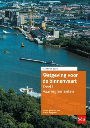 Afbeeldingen van Wetgeving voor de binnenvaart Deel I. Vaarreglementen.