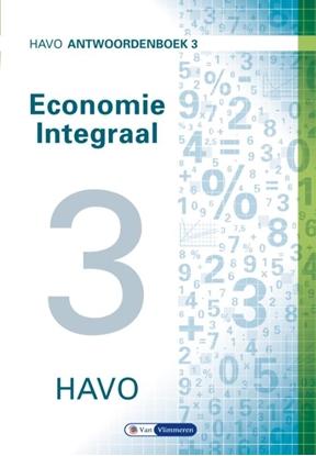 Afbeeldingen van Economie Integraal havo Antwoordenboek 3