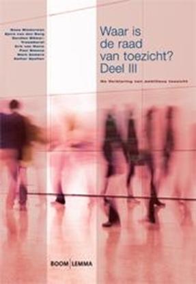 Afbeeldingen van Bestuurskunde & politicologie overig Waar is de raad van toezicht? 3